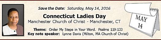 2016 CT Ladies Day - May 14, 2016