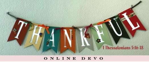 Thanksgiving 2014 Online Devo